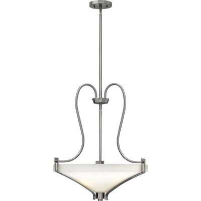 Pritts 3-Light Bowl Pendant