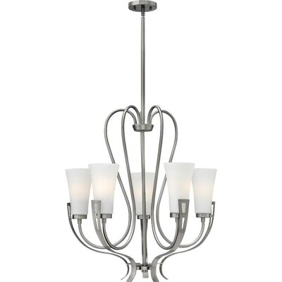 Pritts 5-Light Candle-Style Chandelier