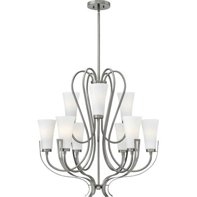 Pritts 9-Light Candle-Style Chandelier