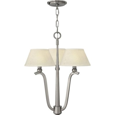 Priolo 3-Light Drum Chandelier