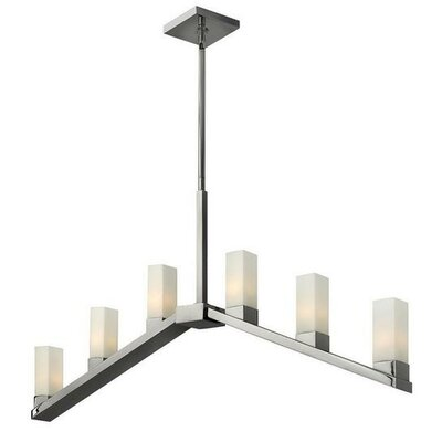 Auyeung 6-Light Kitchen Island Pendant