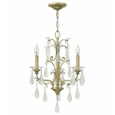 Bartholdi 3-Light Mini Chandelier