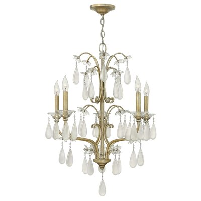 Bartholdi 5-Light Candle-Style Chandelier