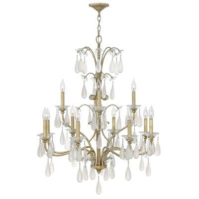 Bartholdi 12-Light Candle-Style Chandelier