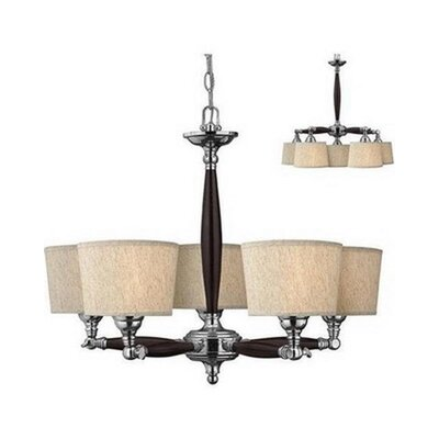 Leclair 5-Light Drum Chandelier