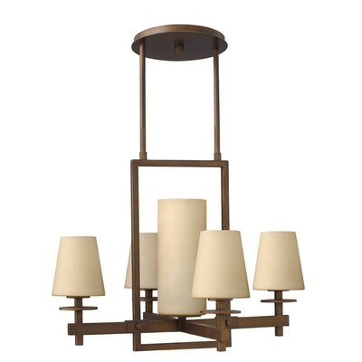 Machelle 5-Light Candle-Style Chandelier