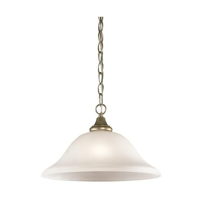 Upchurch 1-Light Mini Pendant Finish: Sterling Gold