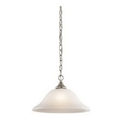 Upchurch 1-Light Mini Pendant Finish: Brushed Nickel