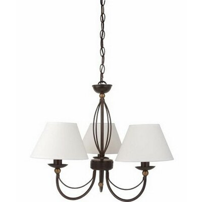 Bevill 3-Light Candle-Style Chandelier