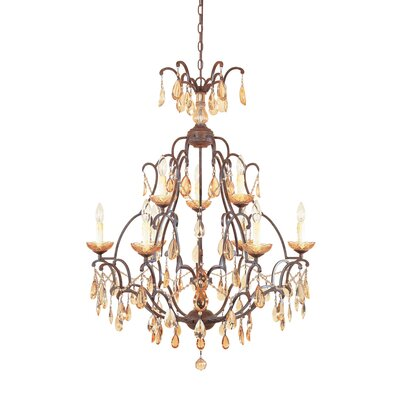 Lamas 9-Light Candle-Style Chandelier