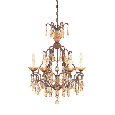 Lambdin 6-Light Candle-Style Chandelier