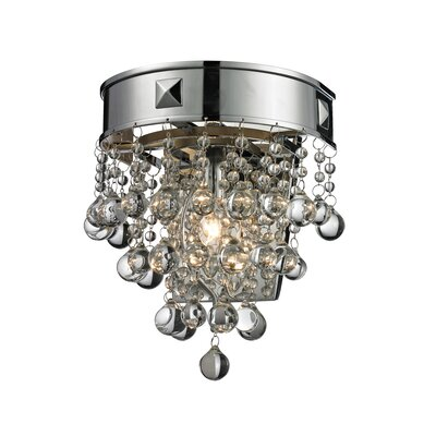 Kleckner 1-Light Flush Mount