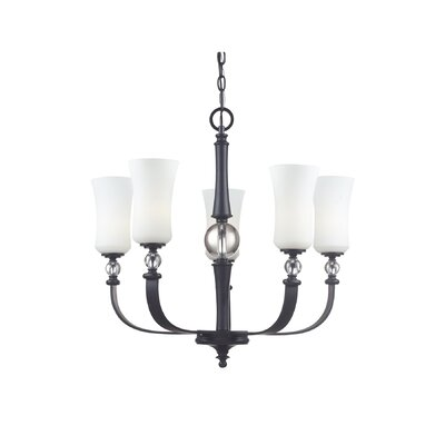 Vergara 5-Light Candle-Style Chandelier