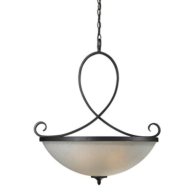 Haworth 3-Light Bowl Pendant