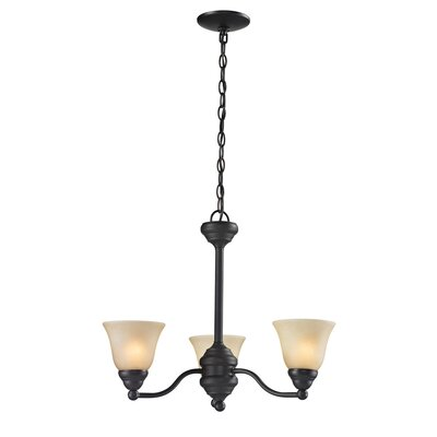 Beeler 3-Light Candle-Style Chandelier