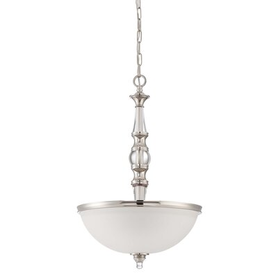 Columbard 3-Light Bowl Pendant
