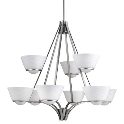 Kranz 9-Light Candle-Style Chandelier