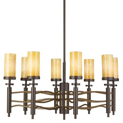 Pharris 8-Light Candle-Style Chandelier