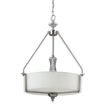 Dupree 3-Light Bowl Pendant