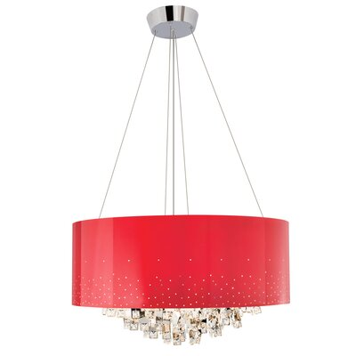 Laforest 10-Light Drum Chandelier