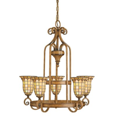 Manhart 5-Light Candle-Style Chandelier