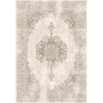 Maxime Beige Area Rug Rug Size: 92 x 126