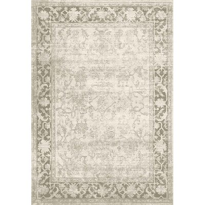 Whittaker Beige Area Rug Rug Size: 92 x 126