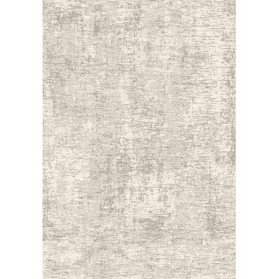 Austyn Gray Contemporary Area Rug Rug Size: 53 x 77