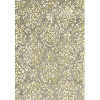 Whittaker Contemporary Green Area Rug Rug Size: 53 x 77