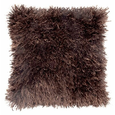 Autumnus Mix Shag Throw Pillow Color: Brown