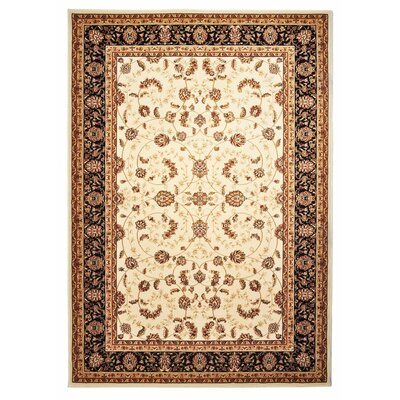 Ahearn Cream Area Rug Rug Size: 5 x 77