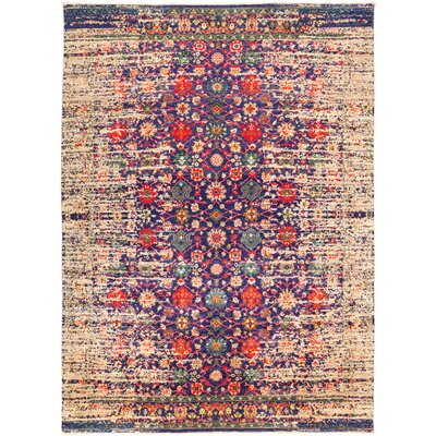 One-of-a-Kind Heim Hand Knotted Wool Red Area Rug
