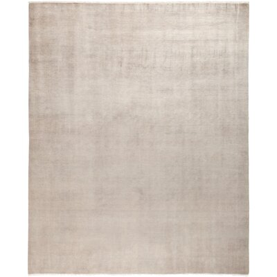 One-of-a-Kind Dunnyvadden Hand Knotted Wool Beige Area Rug