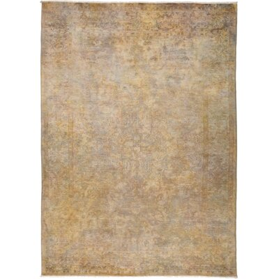 One-of-a-Kind Courter Hand Knotted Beige Area Rug
