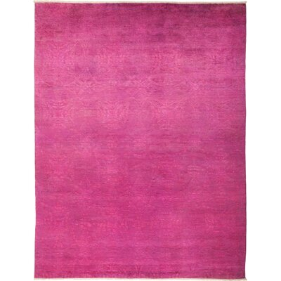One-of-a-Kind Kingswood Hand Knotted Pink Area Rug