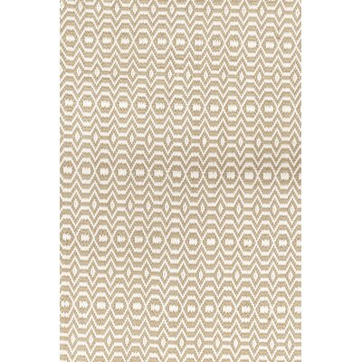 One-of-a-Kind Leong Hand-Knotted Ivory Area Rug