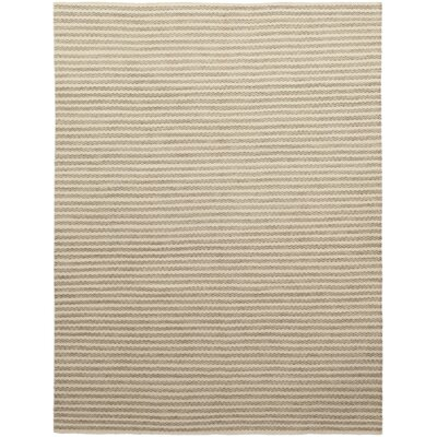 One-of-a-Kind Enders Hand-Knotted Wool Beige Area Rug