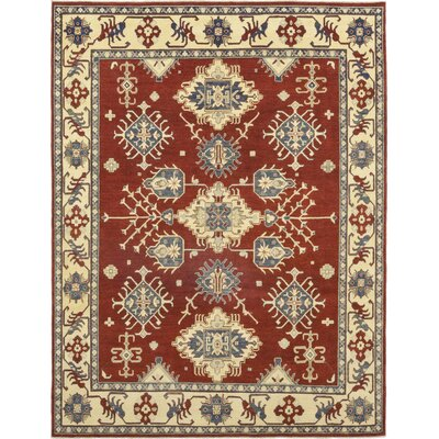 One-of-a-Kind Little Nell Hand-Knotted Wool Red Area Rug
