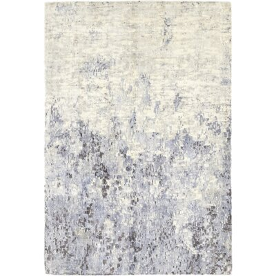 One-of-a-Kind Elizabeth Street Hand-Knotted Wool Blue Area Rug