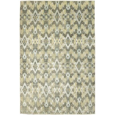 One-of-a-Kind Cote Hand-Knotted Wool Gray Area Rug