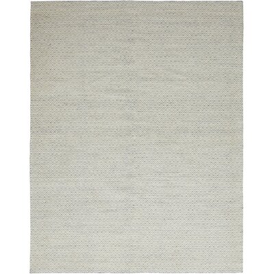 One-of-a-Kind Lemay Hand-Knotted Wool Gray Area Rug