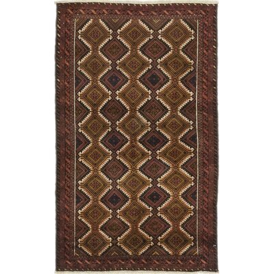 One-of-a-Kind DiVanno Hand-Knotted Wool Red/Brown Area Rug