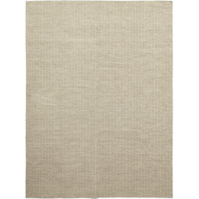 One-of-a-Kind Miraflores Hand-Knotted Wool Beige Area Rug