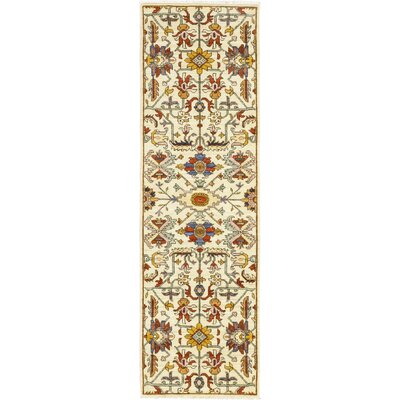 One-of-a-Kind Heimbach Hand-Knotted Wool Beige Area Rug