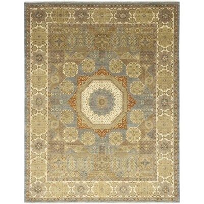 One-of-a-Kind Hein Hand-Knotted Wool Beige Area Rug