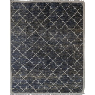 One-of-a-Kind Mystras Hand-Knotted Blue Area Rug