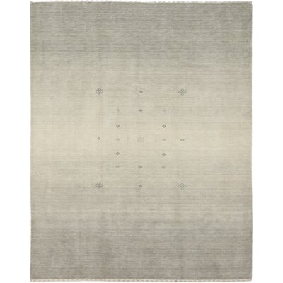 One-of-a-Kind Dimmick Hand-Knotted Wool Gray Area Rug
