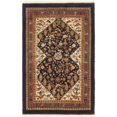 One-of-a-Kind Cox Hand-Knotted Wool Red/Beige Area Rug