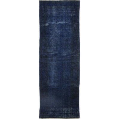 One-of-a-Kind Eisenbarth Hand-Knotted Wool Blue Area Rug