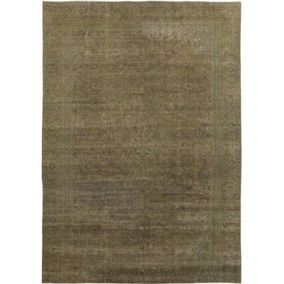 One-of-a-Kind Friedlaender Hand-Knotted Wool Brown Area Rug